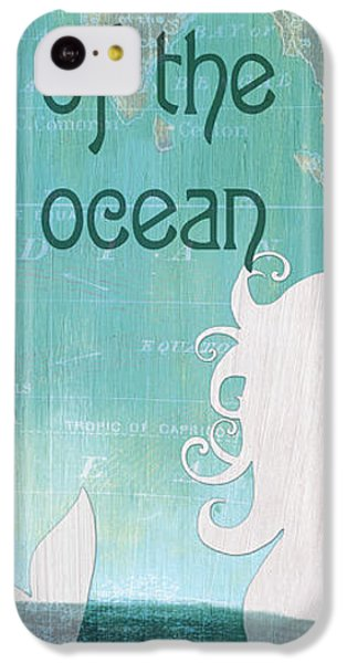 Fairy iPhone 5c Case - La Mer Mermaid 1 by Debbie DeWitt