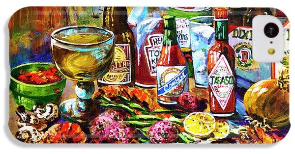 Food And Beverage iPhone 5c Case - La Table De Fruits De Mer by Dianne Parks