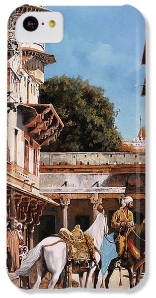 Knight iPhone 5c Case - La Torre Bianca by Guido Borelli