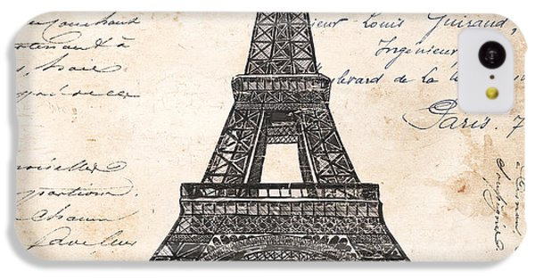 La Tour Eiffel IPhone 5c Case