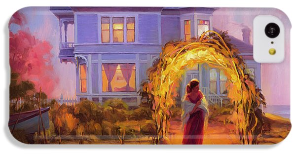 Ocean Sunset iPhone 5c Case - Lady In Waiting by Steve Henderson