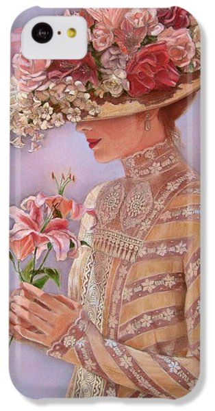 Lily iPhone 5c Case - Lady Jessica by Sue Halstenberg