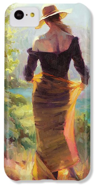 Impressionism iPhone 5c Case - Lady Of The Lake by Steve Henderson