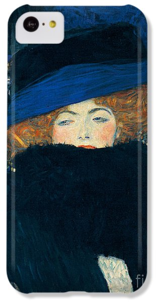 Lady With A Hat And A Feather Boa IPhone 5c Case