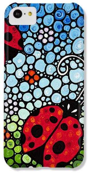 Ladybug Art - Joyous Ladies 2 - Sharon Cummings IPhone 5c Case