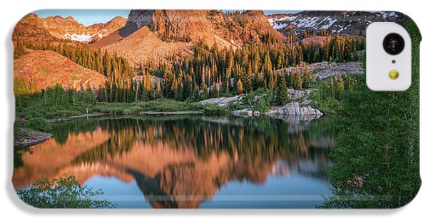 City Sunset iPhone 5c Case - Lake Blanche At Sunset by James Udall