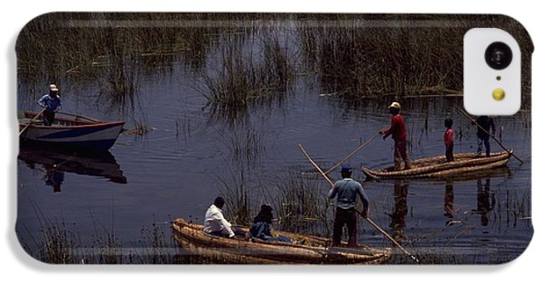 Lake Titicaca Reed Boats IPhone 5c Case