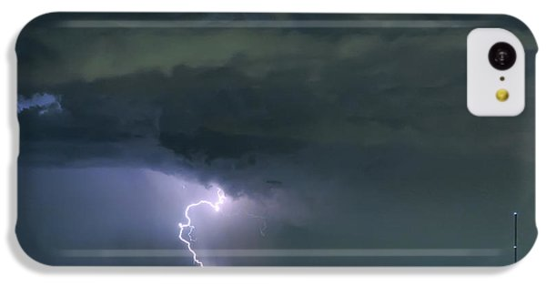 IPhone 5c Case featuring the photograph Landing In A Storm by James BO Insogna