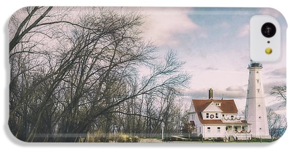 Late Afternoon At The Lighthouse IPhone 5c Case by Scott Norris