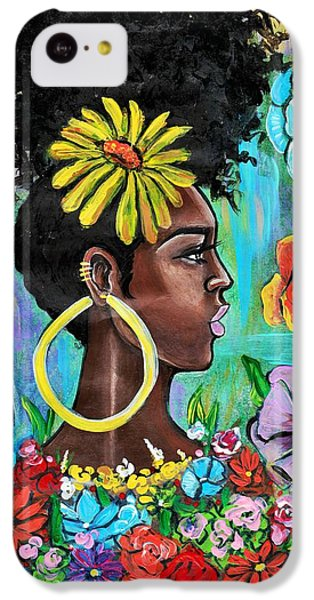 iPhone 5c Case - Late Bloomer by Artist RiA