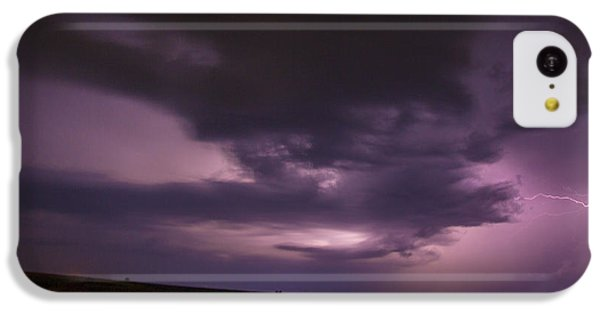 Nebraskasc iPhone 5c Case - Late July Storm Chasing 028 by NebraskaSC