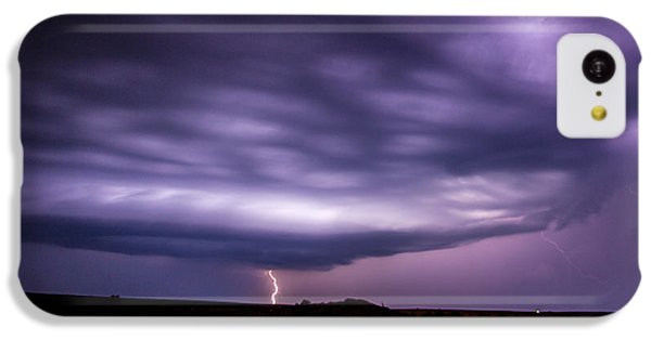 Nebraskasc iPhone 5c Case - Late July Storm Chasing 033 by NebraskaSC