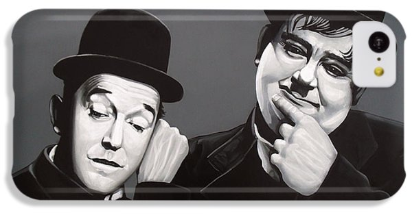 Laurel And Hardy IPhone 5c Case by Paul Meijering