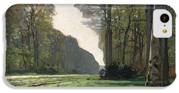 Rural Scenes iPhone 5c Case - Le Pave De Chailly by Claude Monet