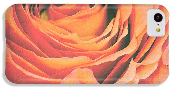 Rose iPhone 5c Case - Le Petale De Rose by Angela Doelling AD DESIGN Photo and PhotoArt