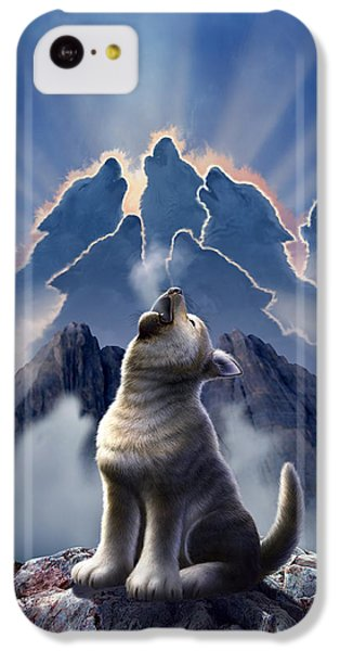 Mountain iPhone 5c Case - Leader Of The Pack by Jerry LoFaro