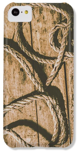 IPhone 5c Case featuring the photograph Learning The Ropes by Jorgo Photography - Wall Art Gallery
