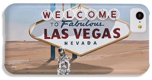 Leaving Las Vegas IPhone 5c Case by Scott Listfield