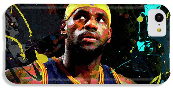 Lebron IPhone 5c Case by Richard Day