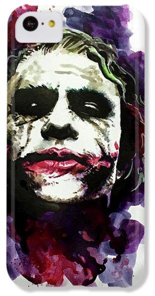 Ledgerjoker IPhone 5c Case by Ken Meyer jr