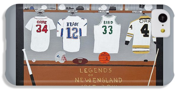 Legends Of New England IPhone 5c Case by Dennis ONeil