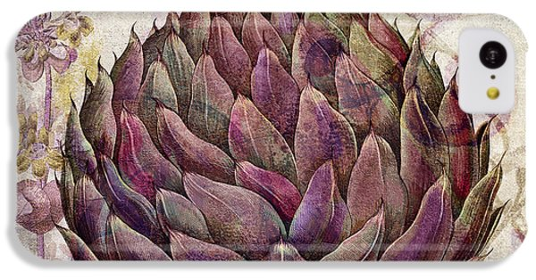 Legumes Francais Artichoke IPhone 5c Case by Mindy Sommers
