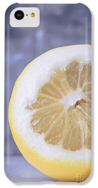 Lemon Half IPhone 5c Case by Edward Fielding