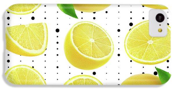 Lemon  IPhone 5c Case by Mark Ashkenazi