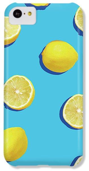 Lemon Pattern IPhone 5c Case