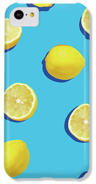Lemon Pattern IPhone 5c Case by Rafael Farias