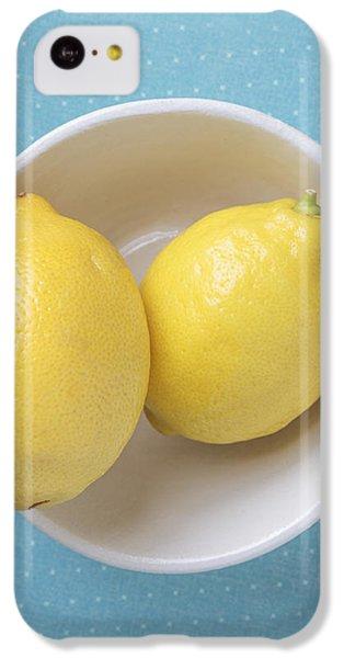 Lemon Pop IPhone 5c Case by Edward Fielding