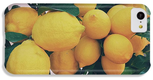 Lemon Tree IPhone 5c Case by Happy Home Artistry