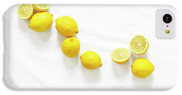 Lemons IPhone 5c Case by Lauren Mancke