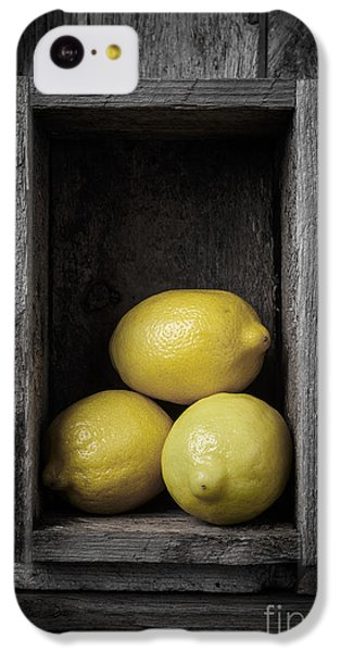 Lemons Still Life IPhone 5c Case by Edward Fielding