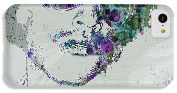 Rhythm And Blues iPhone 5c Case - Lenny Kravitz by Naxart Studio
