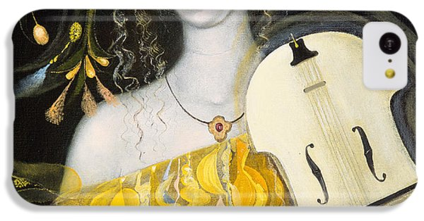 Violin iPhone 5c Case - Leo by Annael Anelia Pavlova
