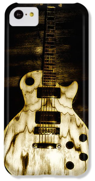 Music iPhone 5c Case - Les Paul Guitar by Bill Cannon
