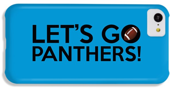 Let's Go Panthers IPhone 5c Case