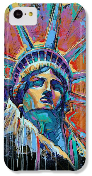 Liberty In Color IPhone 5c Case by Damon Gray