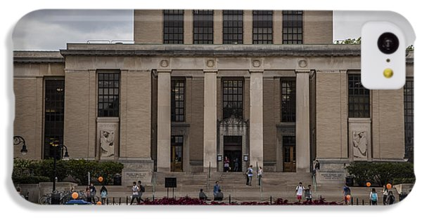 Library At Penn State University  IPhone 5c Case by John McGraw