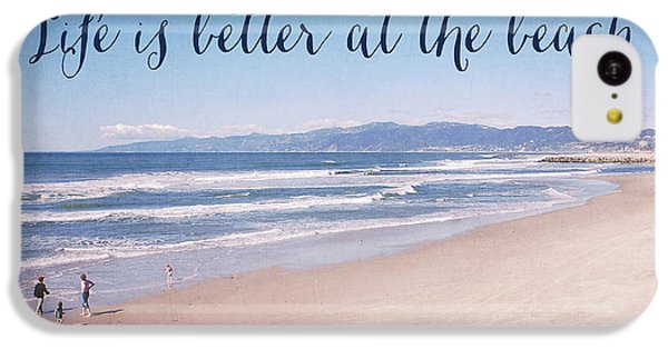 Venice Beach iPhone 5c Case - Life Is Better At The Beach by Nastasia Cook