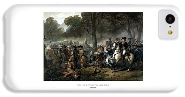 Life Of George Washington - The Soldier IPhone 5c Case