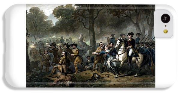 Life Of George Washington - The Soldier IPhone 5c Case by War Is Hell Store