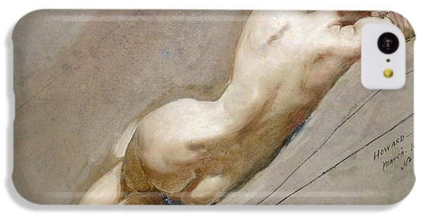 Life Study Of The Female Figure IPhone 5c Case by William Edward Frost