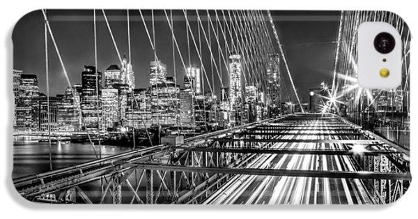 Light Trails Of Manhattan IPhone 5c Case