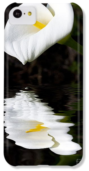 Lily Reflection IPhone 5c Case by Avalon Fine Art Photography