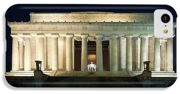 Lincoln Memorial iPhone 5c Case - Lincoln Memorial At Twilight by Andrew Soundarajan