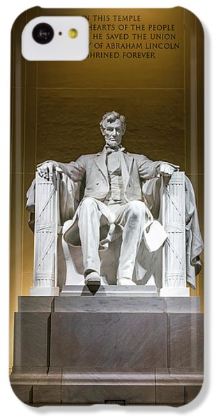 Lincoln Memorial iPhone 5c Case - Lincoln Memorial by Larry Marshall