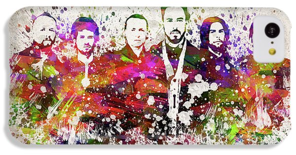 Linkin Park In Color IPhone 5c Case
