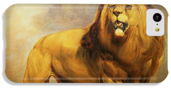 Lion  IPhone 5c Case by William Huggins